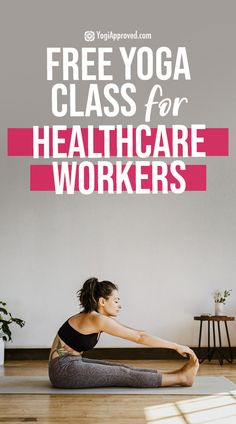 Free Yoga Class: Yoga for Nurses + Healthcare Workers to Reduce Stress Back Fat Workout, Workout For Flat Stomach, Beginner Workout At Home, Workout For Beginners, Yoga For Nurses, Beatles, Yoga Sequence For Beginners, Yoga Inversions, Free Yoga Classes