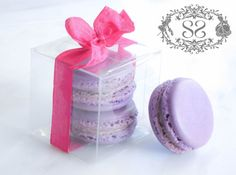 Wedding Favors French Macaron Favor Baptism by SplendidSweetShoppe, $4.75