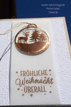 Tin of Tags (Drauf und Dran), Merry Tags Thinlits (Fröhliche Anhängen), Fancy Frost Specialty DSP, Vellum, Copper Foil, Copper embossing powder - 08/16/2016 - http://memories-and-more.blogspot.com/2016/08/heute-sammelbestellung_16.html