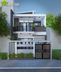 ✔ 39 new modern exterior design ideas for your house 30 > Fieltro. Two Story House Design, Modern Small House Design, 2 Storey House Design, Duplex House Design, Simple House Design, House Front Design, Minimalist House Design, Modern Zen House, Modern Architecture House