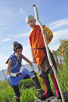 The Last Airbender, Sokka and Aang