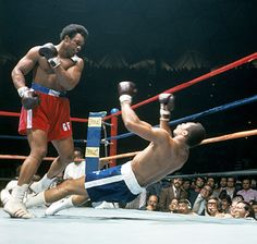 George Foreman knocks Ken Norton the F out