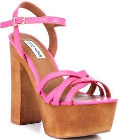 Steve Madden Jupetir, Pink Leather love love love