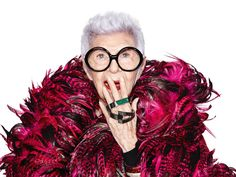 The beloved New York-based, former White House interior designer, Iris Apfel, has teamed up with tech company WiseWear to introduce the brand's new Socialite Collection, a line of three distinct, multi-purpose pieces of jewelry you'll want to get your hands on. | THE UT.LAB | Wearable Fashion *