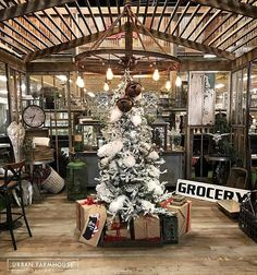 #UFD is a Winter Wonderland this Month! Shop Holiday Decor and Gifts. #UrbanChristmas #FaLaLaFarmhouse
