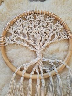 The meaning-Tree of Life- You are a child of the Universe. You have the right to exist You have the responsibility to grow to be yourself The meaning of the Tree of Life as a spiritual symbol is well known and, like the tree itself, many branched and deeply rooted. Handmade using 100% cotton rope, vintage beads and a s