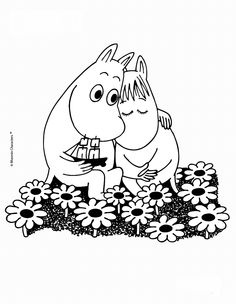 MOOMIN IN LOVE online coloring page. Go green and color online this MOOMIN IN LOVE online coloring page. You can also print out and color this coloring . Minion Coloring Pages, Pokemon Coloring, Online Coloring Pages, Animal Coloring Pages, Coloring Pages To Print, Coloring Book Pages, Printable Coloring Pages, Coloring Pages For Kids, Coloring Sheets