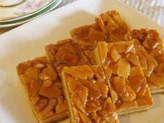 本格★フロランタン♪の画像 Florentine Biscuits, Merida, Cafe Food, Sweet Cakes, Sweets Recipes, Waffles, Deserts, Food And Drink, Pudding