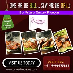 "Enjoy your ""hot"" dinner Order Online:- +91 9990775666 Read more:- gulnarbarbeque.com"