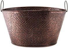 Old Dutch Oval Antique Hammered Copper 7.9-gallon Party Tub   eBay