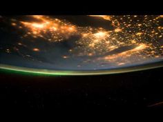 Short time lapse movie in IMAX quality of an orbit : day and night    Crédits :  Musique : Brian Eno - Stars  Amazing photos taken by crews of the ISS. The Gateway of Astronauts Photography of Earth - http://eol.jsc.nasa.gov/  Voice of James Dutton from STS-131 Flight day Highlights 14 / NASA.