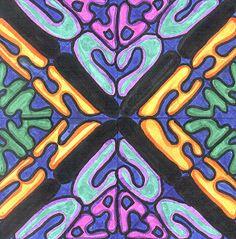 Name symmetry marker art