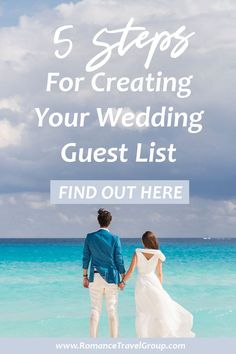 How to create your destination wedding guest list. Here's our best tips for building your wedding guest list so you know how many rooms to reserve at your resort. Wedding Guest List, Wedding Advice, Wedding Bride, Wedding Makeup, Destination Wedding Jamaica, Wedding Resorts, Wedding Venues, Tahiti, Mexico Resorts