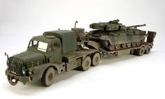 Truck and Trailer.
