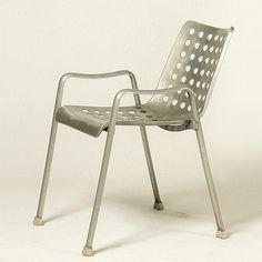 """Hans Coray -""""Landi"""" """"Landi"""" is the official outdoor chair of the Schweizerische Landesausstellung (Swiss National Exhibition), nicknamed the """"Landi,"""" which was held in Zurich in 1939."""