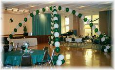 Class Reunion Table Decorations | , school reunion decorations, reunion balloons, balloon decorating ...