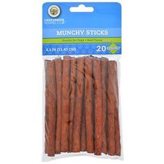 Greenbrier Kennel Club Beef-Flavored Munchy Sticks, 20-ct. Packs