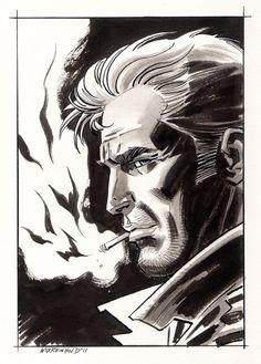 John Constantine by *BillReinhold on deviantART