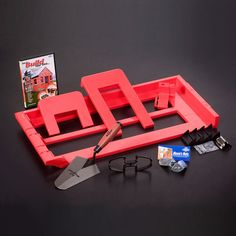 Half Price Launch Offer :: Includes our DIY DVD Box Set, add our Brick Tape for even better value. The New Bricky® Adjustable Brick Building Tool. Brick Laying, Laying Decking, Iron Tools, Hand Tool Sets, Construction Tools, Diy Deck, Deck Plans, Building A Deck, Deck Design