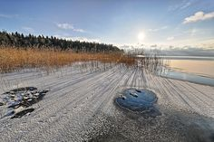 Maisema Pyhäselkä.Landscape in lake Pyhäselkä. Photo Ismo Pekkarinen #maisema #finland #suomi #luonto #nature