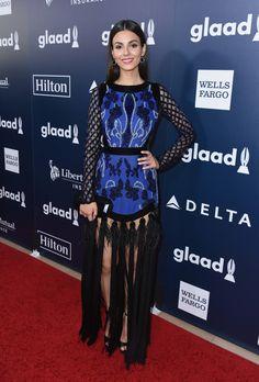 Victoria Justice Photos Photos - 28th Annual GLAAD Media Awards in LA - Red Carpet & Cocktails - Zimbio