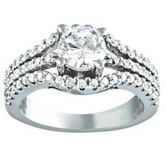 Solitaire Semi Mount Diamond Ring The Ring Pinterest