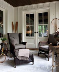 Porch -Muskoka Cottages | House & Home