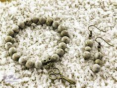 Szürke földpát karkötő és fülbevaló R.M.ékszer szett Jewelry, Bracelets, Photos, Accessories, Jewlery, Pictures, Jewerly, Schmuck, Jewels