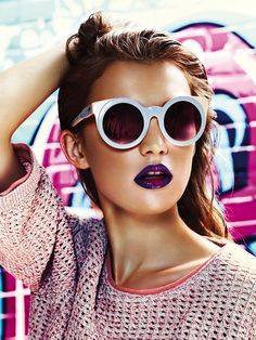 6 Bright Playful Summer Looks feat. Model Kate Lysikowska