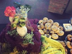 """17 Likes, 1 Comments - Calvin Catering (@calvincatering) on Instagram: """"A trio of flowers for a breakfast buffet in the Fine Arts Center #calvincollege #calvincatering…"""""""