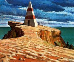 Cape Dombey, 1947 by Jeffrey Smart Australian Art, Artist, Image, A Level Art, Australian Painting, Surrealism, Pictures, Crafts With Pictures, Australian Painters