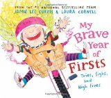My Brave Year of Firsts by Jamie Lee Curtis.    This is fun to share with young kids and would also make a great high school graduation gift.    Read our full review on the Reading Tub. http://thereadingtub.com/childrens-book-reviews.php?book=MY-BRAVE-YEAR-OF-FIRSTS,-TRIES,-SIGHS,-AND-HIGH-FIVES-by-Jamie-Lee-Curtis