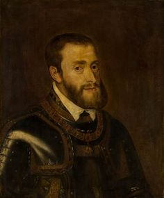 Titian (after), Portrait of Emperor Charles V (1500-1558)