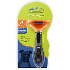 Furminator for med size dogs with short hair
