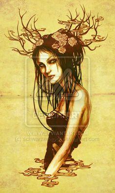 Golden Flower by *LucitaniaMarie on deviantART