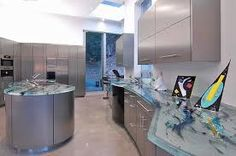 Image result for glass countertops