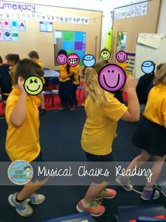 Spice up your Reading Block with Musical Chairs Reading! Miss Jacobs Little Learners Literacy Games, Comprehension Activities, Reading Comprehension, Fun Games, Kinesthetic Learning, Learning Activities, Teaching Resources, Alphabet Activities, Teaching Ideas