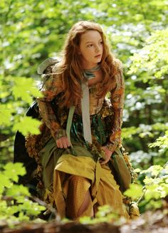 Dakota Blue Richards in 'The Secret of Moonacre' (2008).