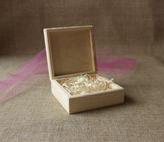 Instagram prints box / photo box / unfinished wooden by NeliStudio
