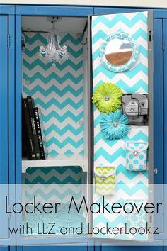 Be 2 Cool 4 School with LLZ by Locker Lookz - Down Home Inspiration Cute Locker Decorations, Cute Locker Ideas, Diy Locker, School Decorations, Locker Crafts, Locker Stuff, Sports Locker, Decoration Crafts, Middle School Lockers