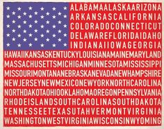 States of the union.....by Hunter Langston