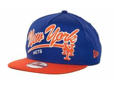 New York Mets MLB Script Logo Snapback 9FIFTY Cap Hats New Era Snapback 9fd7a0cbfb53
