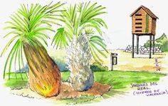 Josep Castellanos: Jardines, Huerta y Playa