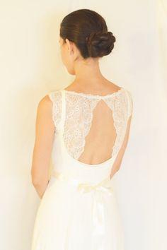 Loren  Boho-Hochzeitskleid romantisches Brautkleid von TheBride2B