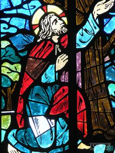 http://www.fosterstainedglass.com/images/full/faceted_10.jpg  Faceted Stained Glass Window, Foster Stained Glass. Closeup.