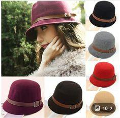 eba5b1170 Buy Fashion Vintage Autumn Winter Adult Women Fedora Hat Dome Hat England  Vintage Bowler Caps Multicolor Ladies Headwear Bucket Hat In Bulk From  Newsboy ...