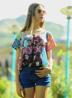 Bayan Bluz Desenli | Modelleri ve Uygun Fiyat Avantajıyla | Modabenle