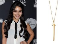 Vanessa Hudgens wearing the Rebel Pendent Necklace by Stella & Dot. Get it at www.stelladot.com/nicki