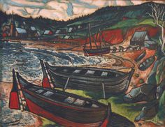 Marc-Aurèle Fortin (March 1888 – March was a Québécois painter. Canadian Painters, Spanish Painters, Canadian Artists, American Artists, Montreal Museums, Of Montreal, National Art, Art For Art Sake, Canada