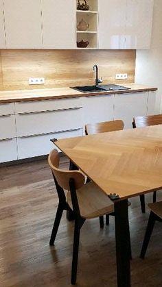 Kitchen Furniture, Furniture Design, Vintage Home Offices, Interior Design Kitchen, Ariel, Minis, Essentials, Dining Table, House Design
